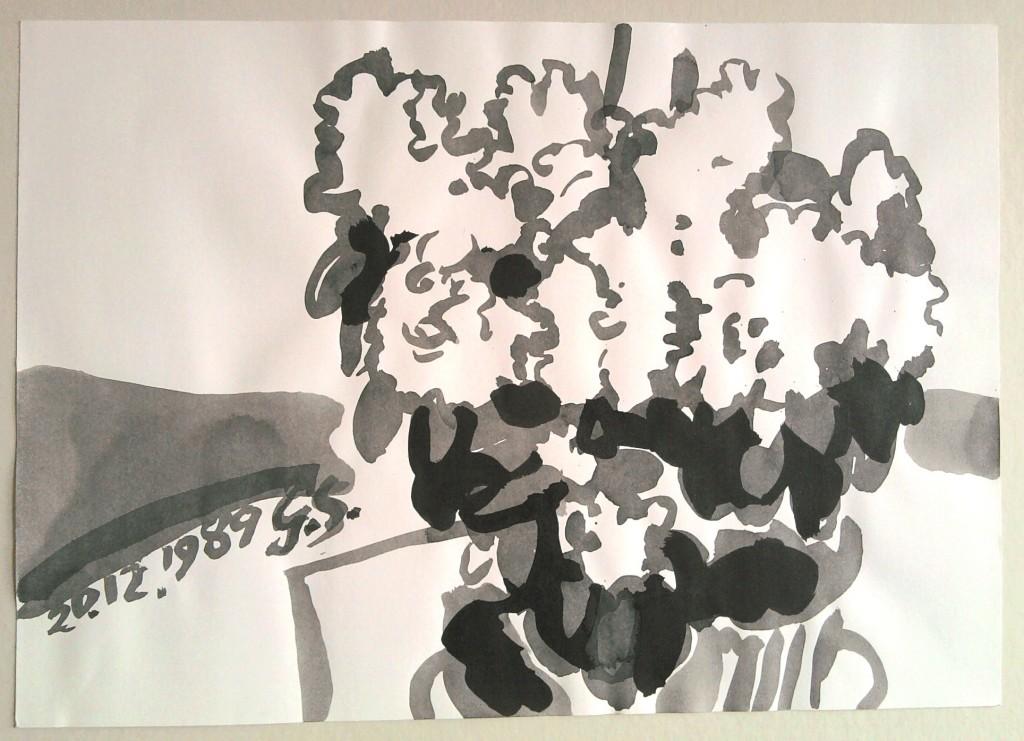 Blumen, 1982, Schwannecke