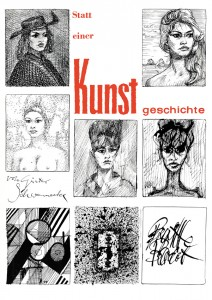 Günter Schwannecke, Illustration des Titelbilds des Semesterspiegel, 1962